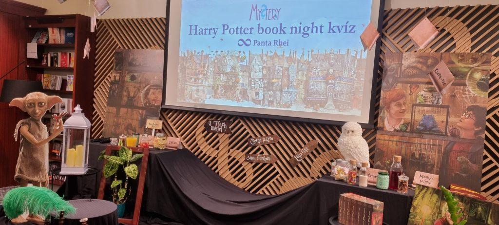 Harry Potter book night – Kvíz s Mystery